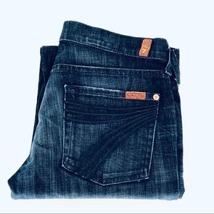 7 for All Mankind crop pants